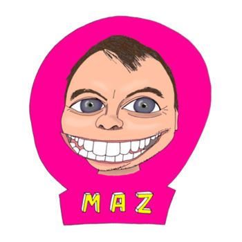 Maz/Pink - Men's T-Shirt Design