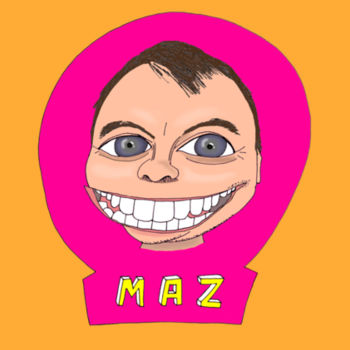Maz/Pink - Kid's T-Shirt Design