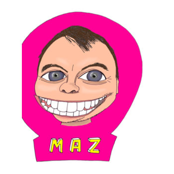 Maz/Pink - Tea-towel  Design