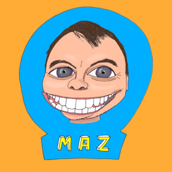 Maz/Blue - Kid's T-Shirt Design