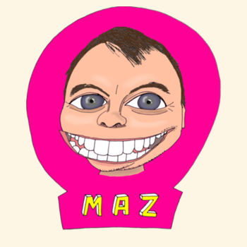 Maz/Pink - Tote Bag Design